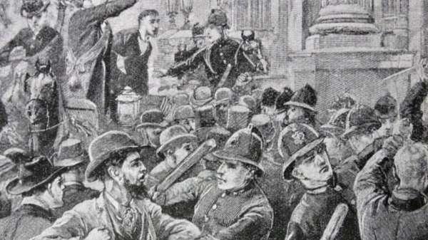 صورة لاحتجاجات