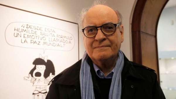 رسام الكاريكاتير الأرجنتيني خواكين سلفادور لافادو