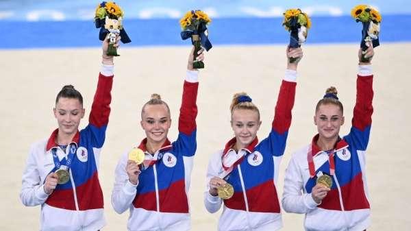 فريق الجمباز الروسي