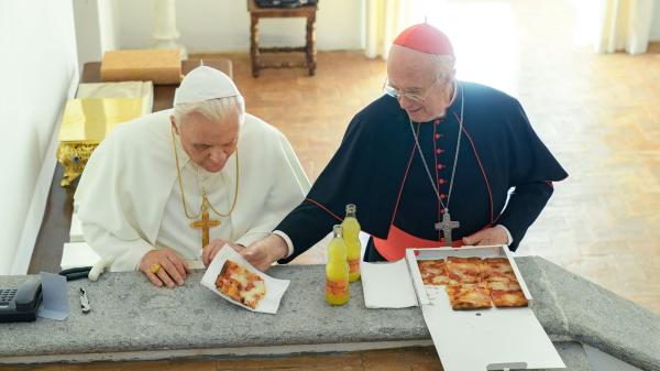 بيتزا وفانتا في الفاتيكان