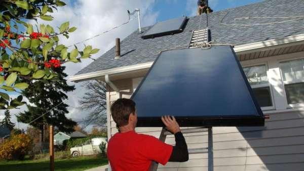 وحدة طاقة شمسية
